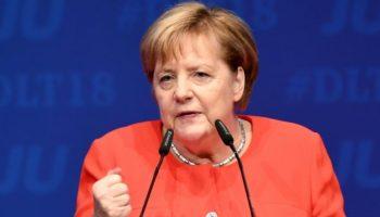 Angela Merkel ,Politik,Deutschlandtag,Kiel,Alexander Dobrindt,Jens Spahn,Union zur Einigkeit
