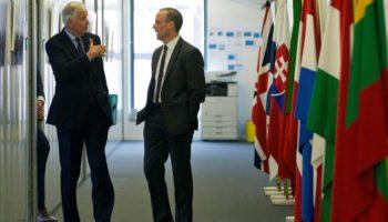 Brexit-Verhandlungen,Politik,Michel Barnier ,Dominic Raab,Brüssel