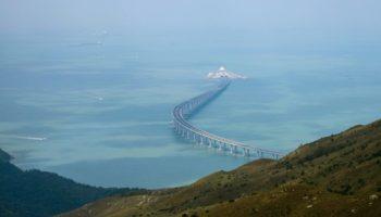 Brücke,Perlflussdelta, längste Meeresbrücke, Meeresbrücke,Hongkong ,Macau,Nachrichten,News,Presse,Aktuelles