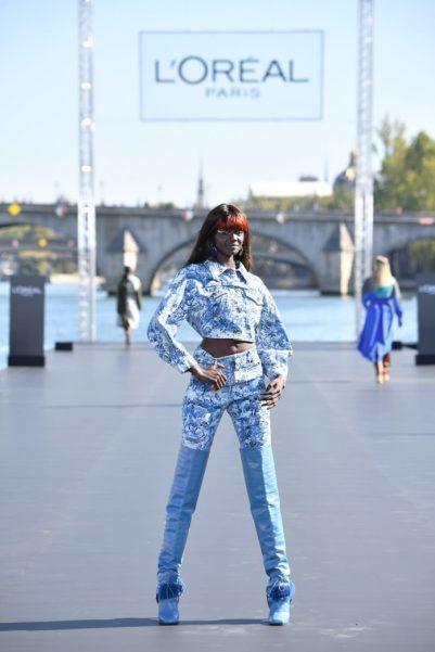 Kosmetik, Mode, Lifestyle, Le Défilé L'Oréal Paris, Runway-Show, Bild, Paris Fashion Week, Fashion / Beauty, Panorama,Paris