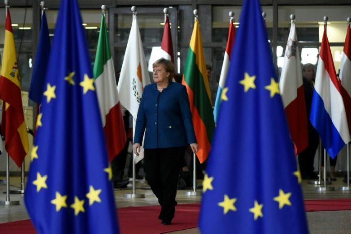 Brüssel,Politik,Nachrichten,EU-Gipfel,Kanzlerin Angela Merkel ,Flüchtlingen,Cyberangriffe
