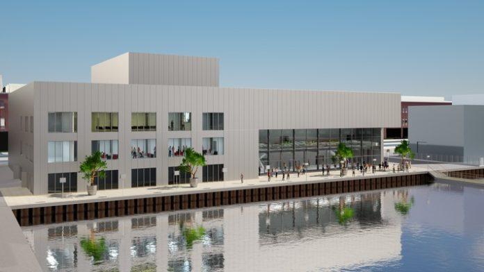 Wolfsburg, Bau, Unterhaltung, Veranstaltungshalle, Hafen 1, Movimentos, Investition, Bild, Bau / Immobilien, Wirtschaft