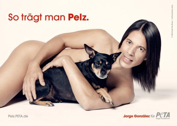 Stuttgart, Tiere, Celebrities, Jorge González, Tierhaltung, Hund, Pelz, Kampagne, Bild, Soziales