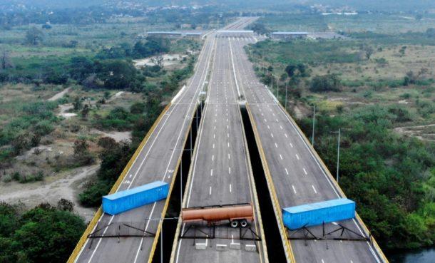 Kolumbien,Tienditas-Brücke,Ausland,News,Presse,Nachrichten,Insight,Cúcuta ,Juan Guaidó