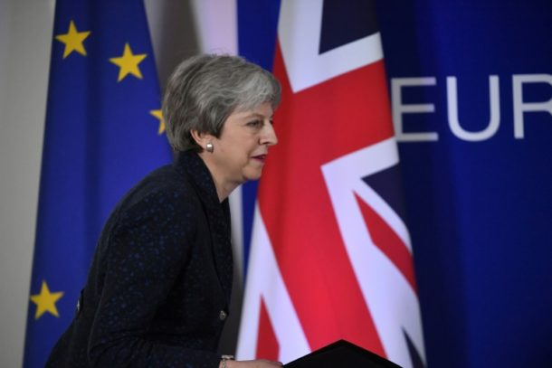Theresa May,Außenpolitik,Brexit
