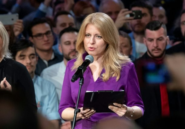 Zuzana Caputova,Slowakei,Außenpolitik