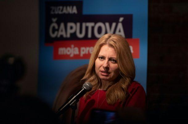 Zuzana Caputova,Ausland,Außenpolitik,