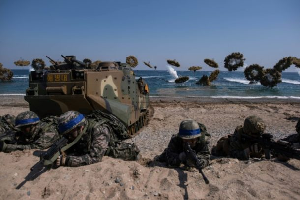 USA ,Südkorea,Großmanöver