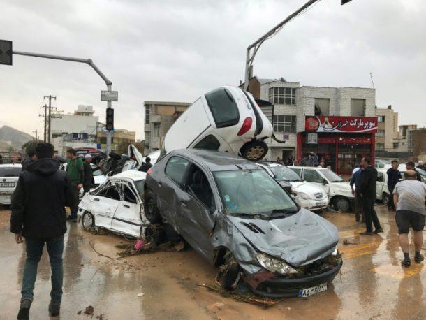 Mindestens 21 Tote bei schweren Überschwemmungen im Iran