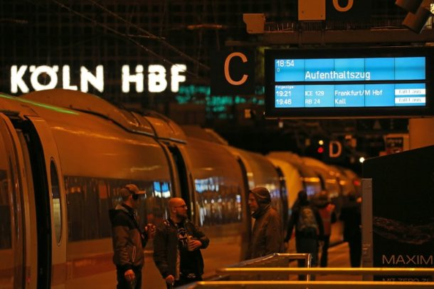 Bahnverkehr ,Köln,Eberhard