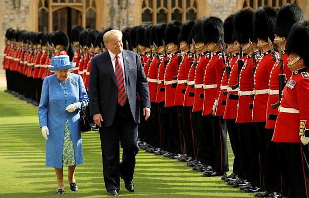 Großbritannien,Präsident Donald Trump,Königin Elizabeth II.