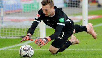 Fußball,,Keeper Schubert, 2. Fußball-Bundesliga