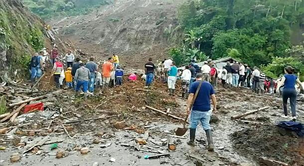 Kolumbien,Rosas,Unglück