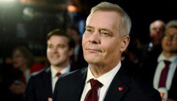 Antti Rinne,Finnland,Wahlen