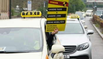 Taxifahrer,Berlin, Demonstrationen