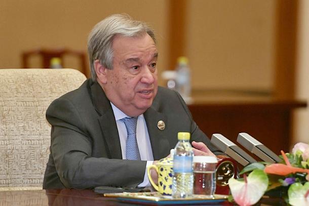 Antonio Guterres,UN-Generalsekretär,CO2
