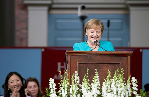 Harvard-Universität,Angela Merkel,Presse,News