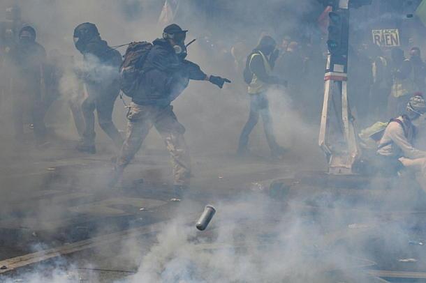 Paris,Presse,News,Mai-Kundgebungen