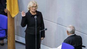 Christine Lambrecht,Frank-Walter Steinmeier,Politik,Berlin