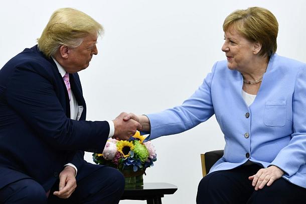Donald Trump,Angela Merkel ,Politik