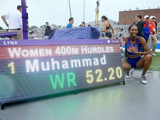 Dalilah Muhammad,Sport,Presse,News,Medien,Aktuelle,Nachrichten