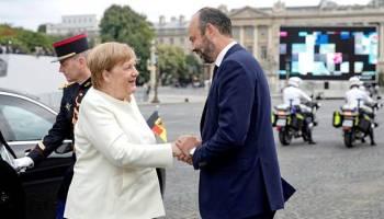 Nationalfeiertag,Paris,François Lecointre,Angela Merkel