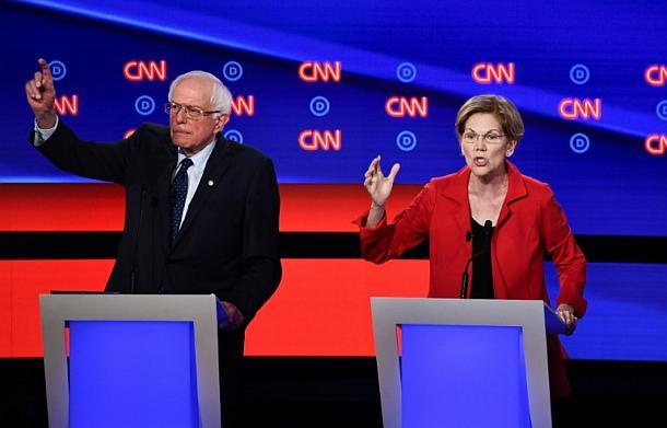 Bernie Sanders,Elizabeth Warren,People,Presse,News,Medien,Politik