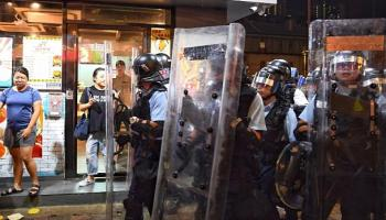 Hongkong-Krise,Präsident, Donald Trump,Politik,Presse,News