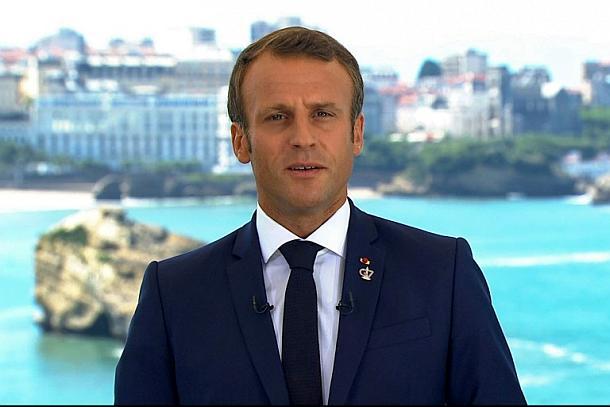 Politik,Presse,News,Medien,Frankreich ,G7-Gipfel,Emmanuel Macron