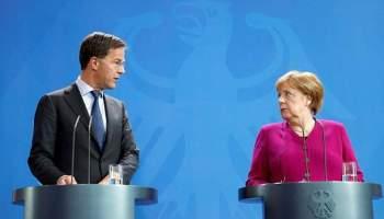 Berlin,Angela Merkel ,Mark Rutte,Den Haag,Presse,News,Medien,Nachrichten,Aktuelle