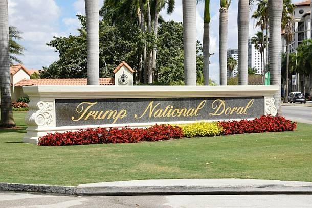 Trump National Doral Miami,Politik,Presse,News,Medien,G7 Gipfel