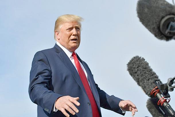 Präsident ,Donald Trump ,Presse,News,Medien,Aktuelle,Hongkong-Krise
