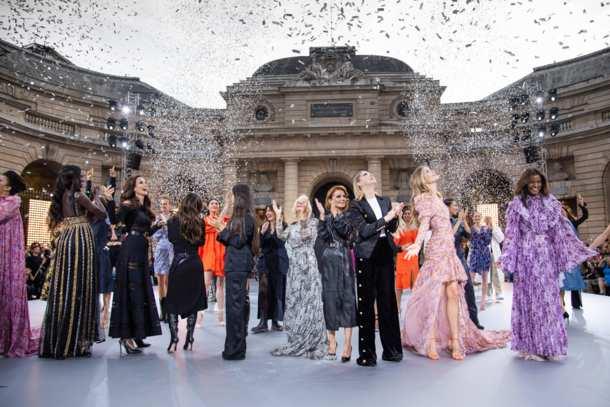 L'Oréal Paris,LeDefileShow,Catwalk,Paris Fashion Week ,Fashion,Medien,