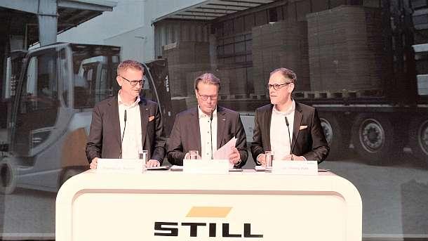 Still,Elektro-Stapler, RX 60,Medien,Presse,News,Hamburg,Produktpräsentation,Stapler