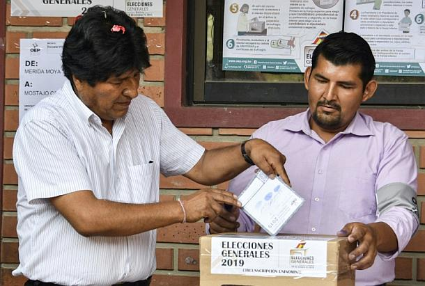 Bolivien,Ausland,Außenpolitik,Polirik,Presse,News,Medien,Stichwahl., Evo Morales