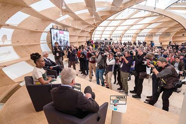 Frankfurter Buchmesse wird eröffnet