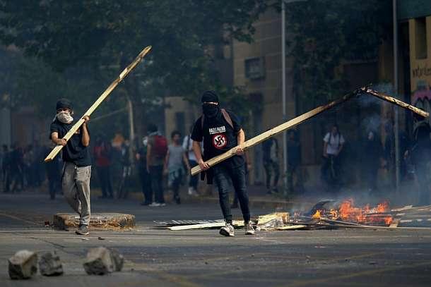 Santiago,Chile,Proteste,Presse,News,Medien,Berichte,Nachrichten