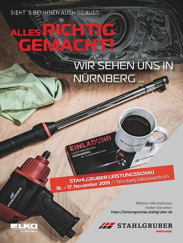 Stahlgruber,Sindelfingen ,Nürnberg,Poing,Messe,Herbst,Presse,News,Medien