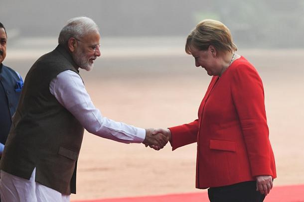 Angela Merkel,Neu Delhi,Presse,Medien,Politik,Nachrichten,Online,Narendra Modi ,Aktuelle