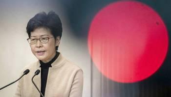 Carrie Lam,Hongkong,Politik,Presse,News,Medien