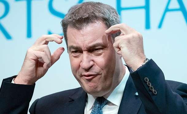 Markus Söder,CDU,Parteitag,Presse,News,Medien,Berlin