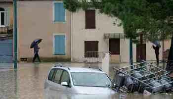 Unwetter,Südfrankreich,Norditalien,Presse,News