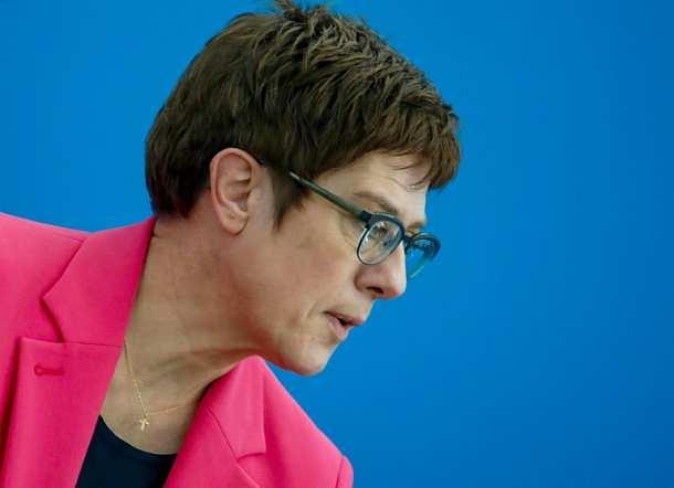 Annegret Kramp-Karrenbauer,Berlin,Politik,Presse,News,Medien
