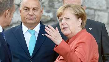 Angela Merkel,Viktor Orban,Berlin,Politik,Presse,News,Medien