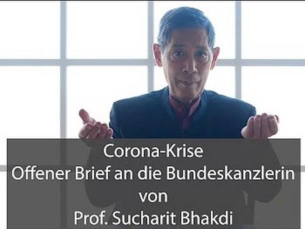 Prof. Sucharit Bhakdi- Fragen an die Kanzlerin in Sachen COVID-19