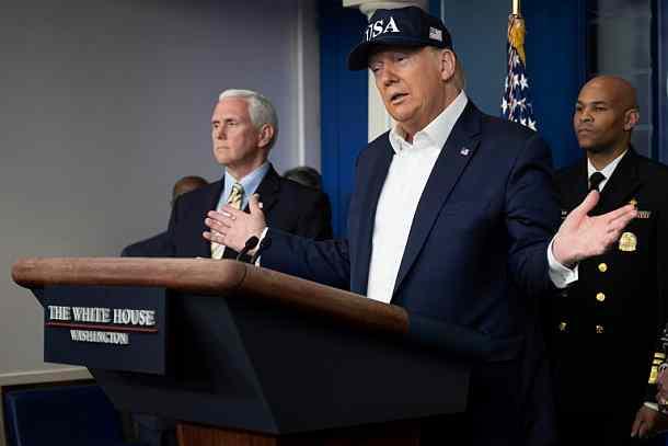US-Präsident,neuartigem, Coronavirus,Presse,News,Medien