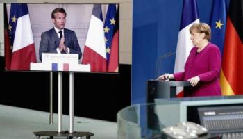 Angela Merkel,Emmanuel Macron ,Politik,Presse,News,Medien