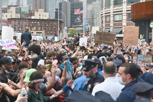 Proteste nach Tod von George Floyd bei Polizeieinsatz