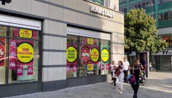 Einzelhandel,Corona Pandemie,Presse,News,Medien,Karstadt