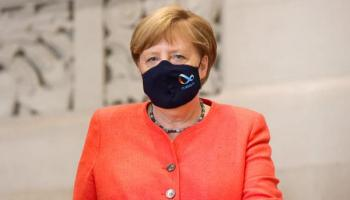 Merkel mit Maske, Angela Merkel , Berlin,Politik,Presse,News,Medien